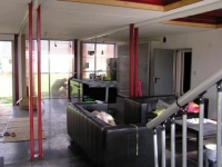 The Lille Red Shipping Container House, Lille, France 4