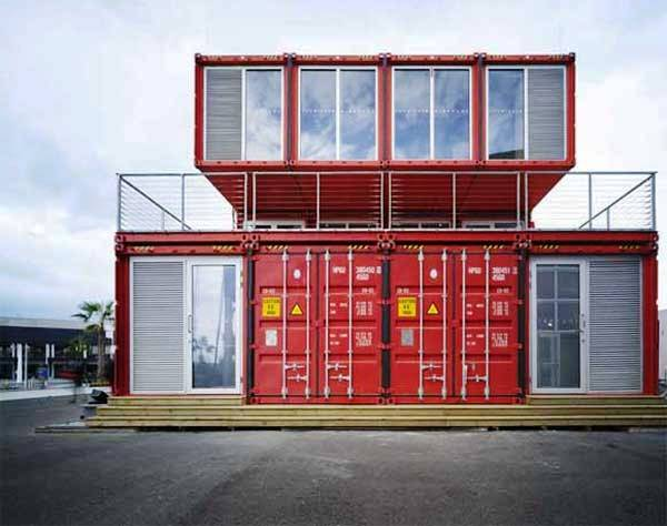 Puma container city - Container home building code ...
