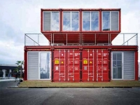 Puma container city - Shipping container home building code ...
