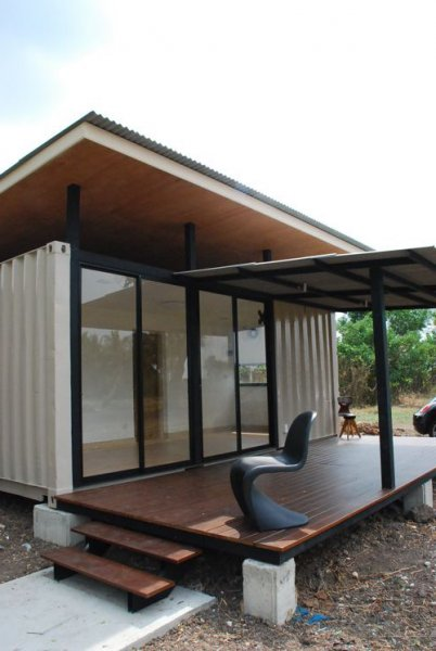 Cheap container homes the r2x20 container home project for Cheap homes to build