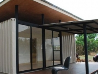 The R2x20 Container Home Project by A Site Specific Experiment Thailand 1