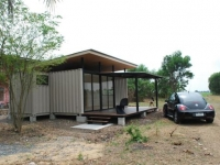 The R2x20 Container Home Project by A Site Specific Experiment Thailand 3
