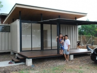 The R2x20 Container Home Project by A Site Specific Experiment Thailand 4