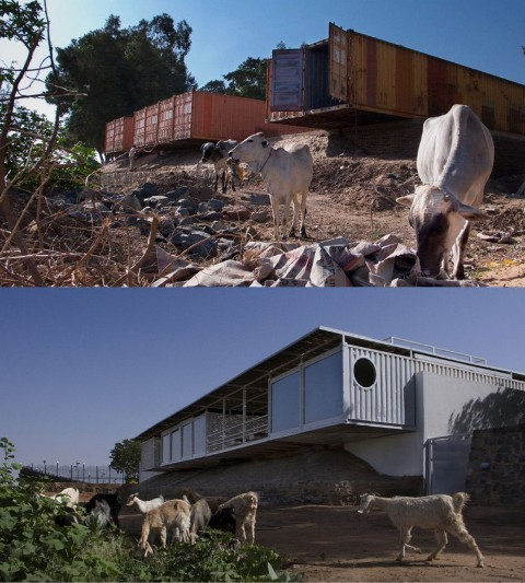 Cargo Shipping Container Homes: Portable Housing Containers