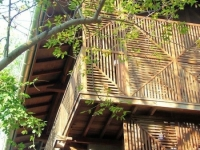 The Timber Beach House, Srima, Auroville 1