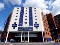 The Travelodge Shipping Container Hotel Uxbridge UK 1