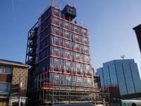 The Travelodge Shipping Container Hotel Uxbridge UK 2