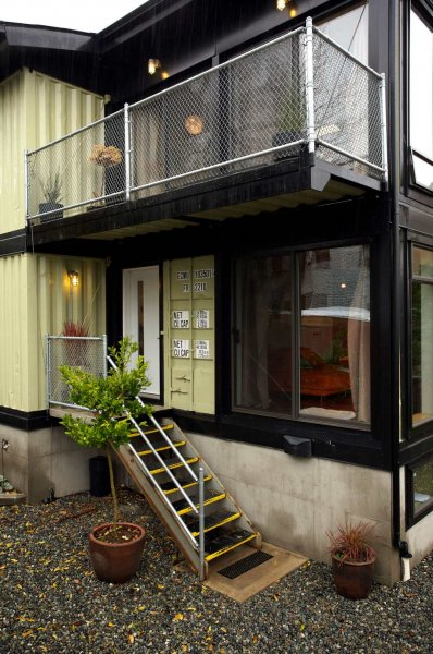 Modified Shipping Container Homes The Zigloo Domestique