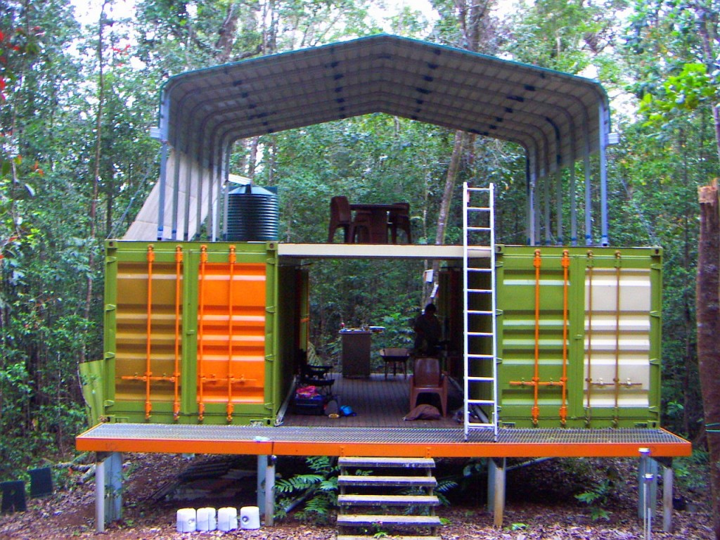 Shipping container shelter in australia - Building shipping container homes ...