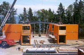 Adam Kalkin Container Building