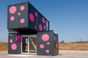 Houses Made from Shipping Containers