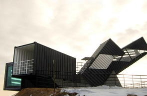 OCEANSCOPE Shipping Container Structure