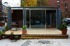 Popping Up Container Homes In NYC