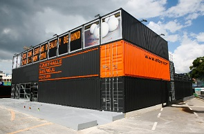 Shipping Container Building in Gwangju Korea