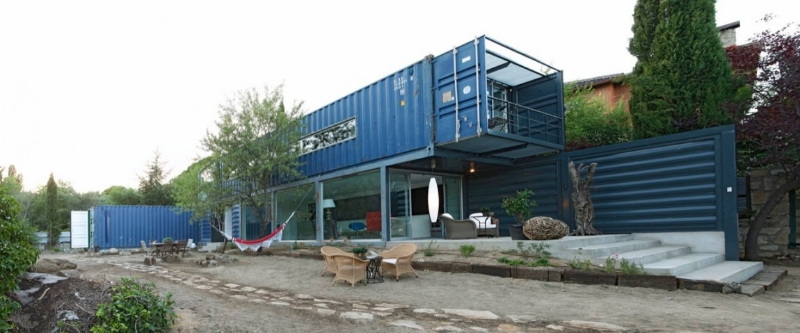 Best Container Homes best shipping container homes- casa el tiemblo aka casa rauliniski