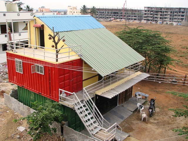 Using Shipping Containers for Housing