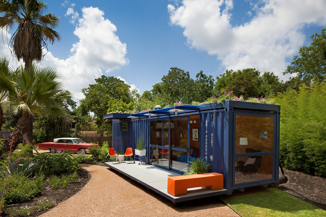 Shipping container art studio - Container homes usa ...