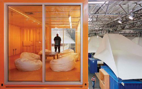 Pallotta Teamworks Shipping Container Headquarters