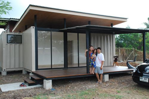 Cheap container homes the r2x20 container home project - Shipping container homes cost to build ...