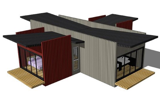 Shipping container homes for sale for Container home designs australia
